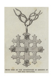 Cross Used in the Investiture of Knights of the Holy Sepulchre