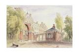 Cumberland Gate, Hyde Park, 1820