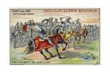 Death of John Talbot at the Battle of Castillon