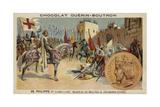 Godfrey of Bouillon at Jerusalem, 1099