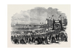Opening of the Pier at Clevedon Somersetshire, UK, 1869