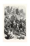 Roman Centurion Captured by British Warriors