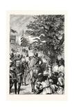 Procession of Knights Templars