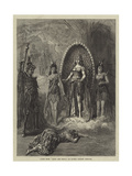 Scene from Babil and Bijou, at Covent Garden Theatre