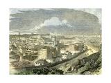 Edinburgh U.K. 19th Century View Calton Hill Scotland