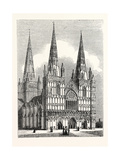 West Front of Lichfield Cathedral