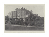 Culzean Castle, Ayrshire, the Seat of the Marquis of Ailsa