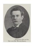 The Late Mr William Black
