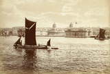 On the Thames, at Greenwich Hospital, London, C.1885