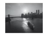 Manhattan Harbor Sunset Boat