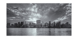 Manhattan East Side Sunset Panorama