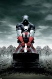 Captain America No.4 Cover: Captain America