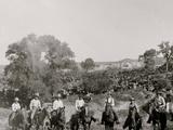 A Group of Texas Cowboys