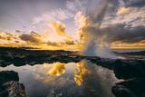 Sunrise at Spouting Horn, South Kauai, Poipu Hawaii