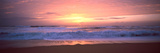 Sunset over the Beach, Morbihan, Brittany, France