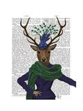 Deer and Fascinator
