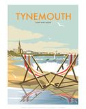 Tynemouth - Dave Thompson Contemporary Travel Print