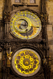 Astronomical Clock on the Town Hall, Old Town Square, Prague, Czech Republic