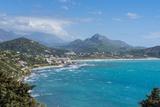 View over Plakas on the South Coast of Crete, Greek Islands, Greece, Europe