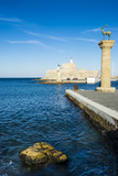 The Deers, the Medieval Old Town of the City of Rhodes, Rhodes, Dodecanese Islands, Greek Islands