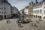 Stroget, the Main Pedestrian Shopping Street, Copenhagen, Denmark, Scandinavia, Europe