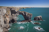 Green Bridge of Wales, Pembrokeshire Coast, Wales, United Kingdom