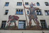 Goliath House, Regensburg, Bavaria, Germany