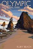 Olympic National Park, Washington - Ruby Beach
