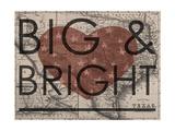 Big & Bright - 1864, Texas Mitchell Plate, Texas, United States Map