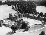 Blenheim Palace in Oxfordshire, 1950