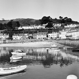 View of Gorey Harbour on the Island of Jersey, 1965