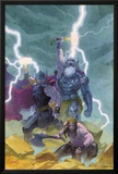 Thor: God of Thunder #9 Cover: Odin, Thor