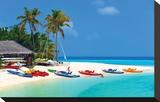 Maldives Island Beach & Boats