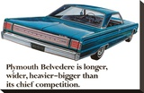Plymouth Belvedere is Longer?