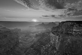 Cape Royal Viewpoint at Sunset, North Rim, Grand Canyon Nat'l Park, UNESCO Site, Arizona, USA