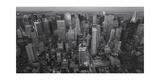 Manhattan, North View, Evening Panorama - New York City at Night