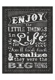 Chalkboard Life