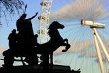 Statue of Boudicca, the London Eye, London
