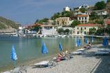Beach, Assos, Kefalonia, Greece