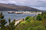 View of Ullapool Harbour, Highland, Scotland