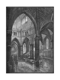 Interior of the Temple Church, London, 1905