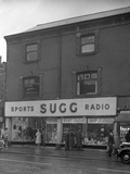 Sugg Sports and Radio, High Street, Scunthorpe, Lincolnshire, 1960