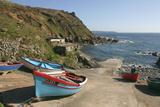 Boats on the Slipway at Cape Cornwall, Cornwall