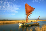 Thames Sailing Barge, Snape, Suffolk