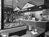 New Wimpy Bar, Barnsley, South Yorkshire, 1960