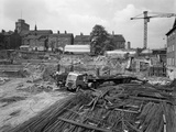 Preparation for Construction Work, Sheffield University, South Yorkshire, 1960