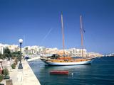 Waterfront of Sliema, Malta