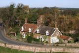 Cottages in the Village of Castle Rising, Kings Lynn, Norfolk, 2005