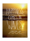 Happiness in Waves