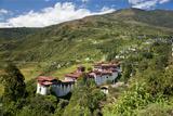 Tongsa Dzong, Buddhist Monastery and Fortress, in Tongsa, Bhutan
